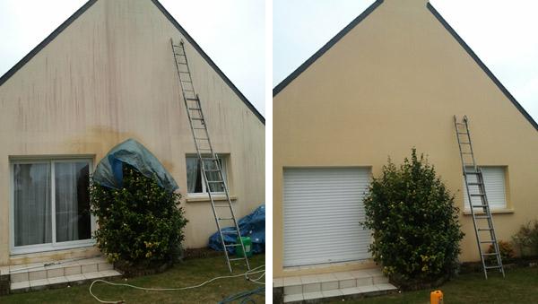 nettoyer facade maison javel – resine de protection pour peinture